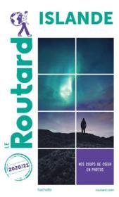 Guide du Routard ; Islande (édition 2020/2021) - Couverture - Format classique