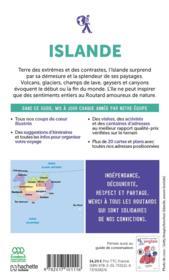Guide du Routard ; Islande (édition 2020/2021) - 4ème de couverture - Format classique