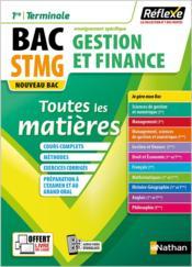 Réflexe Bac ; gestion et finance ; STMG ; toutes les matières ; 1re/terminale ; enseignement spécifique (édition 2020) - Couverture - Format classique