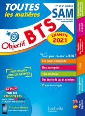 Objectif BTS ; toutes les matières ; SAM (édition 2021) - Couverture - Format classique