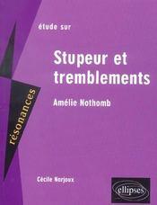 Étude sur stupeur et tremblements d'Amélie Nothomb - Intérieur - Format classique