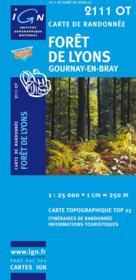 Forêt de Lyons ; 2111 OT - Couverture - Format classique