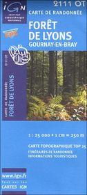 Forêt de Lyons ; 2111 OT - Intérieur - Format classique
