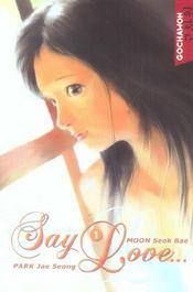 Say Love T.1 - Intérieur - Format classique
