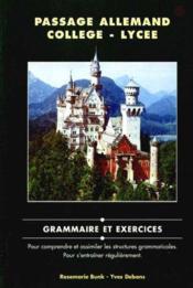 Passage allemand collège-lycée ; ouvrage - Couverture - Format classique