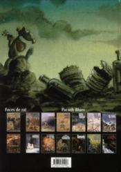 Pacush blues t.13 ; correspondance avec les corps obscurs - 4ème de couverture - Format classique