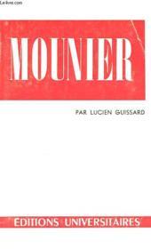 Emmanuel Mounier - Couverture - Format classique