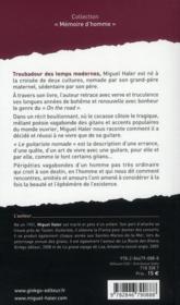 Le guitariste nomade ; chroniques des gens du petit peuple - 4ème de couverture - Format classique