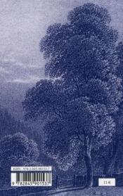 Esquisse du paradis perdu - 4ème de couverture - Format classique