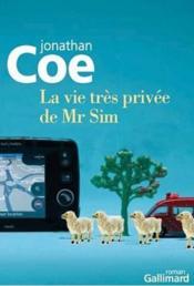 La vie très privée de Mr Sim - Couverture - Format classique