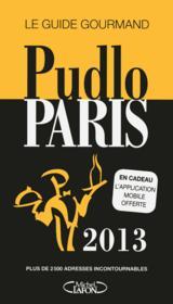 Pudlo Paris (édition 2013) - Couverture - Format classique