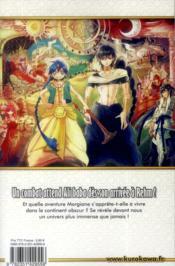 Magi t.15 - 4ème de couverture - Format classique