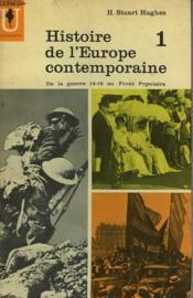 Histoire De L'Europe Contemporaine - 1 - Couverture - Format classique