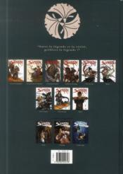 Samurai - légendes T.3 ; l'aube rouge - 4ème de couverture - Format classique