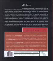 Les Carnets Du Paysage N.29 ; Déchets - 4ème de couverture - Format classique