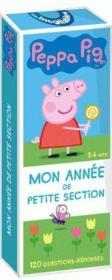 Les incollables ; Peppa Pig ; mon année de petite section - Couverture - Format classique