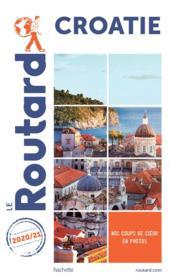 Guide du Routard ; Croatie (édition 2020/2021) - Couverture - Format classique