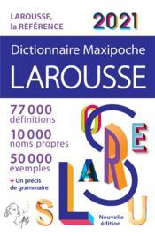 Dictionnaire maxipoche ; Larousse (édition 2021) - Couverture - Format classique
