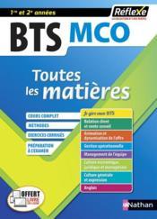 REFLEXE BTS T.7 ; management commercial opérationnel ; BTS MCO ; 1er et 2e années (édition 2020) - Couverture - Format classique