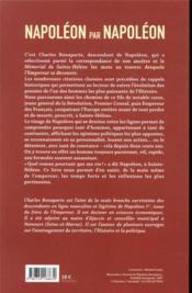 Napoléon par Napoléon : réflexions, maximes et citations - 4ème de couverture - Format classique