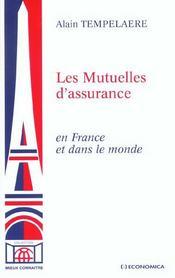 Les Mutuelles D'Assurance En France Et Dans Le Monde - Intérieur - Format classique