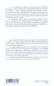 Les Mutuelles D'Assurance En France Et Dans Le Monde - 4ème de couverture - Format classique