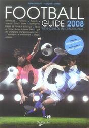 Guide du foot français et international (édition 2008) - Intérieur - Format classique