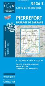 Pierrefort ; barrage de Sarrans - Couverture - Format classique
