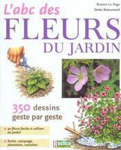 L'abc des fleurs du jardin - Intérieur - Format classique