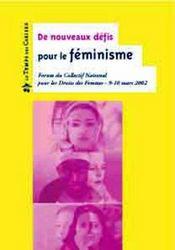 Les nouveaux defis pour le féminisme - Intérieur - Format classique