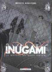 Inugami le réveil du dieu chien t.11 - Couverture - Format classique