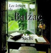 Lettres de balzac a sache - Couverture - Format classique