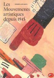 Mouvements artistiques depuis 1945 (Les) - Intérieur - Format classique