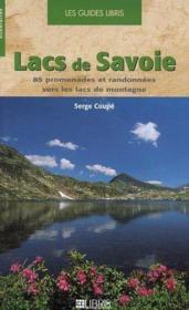 Lacs de Savoie - Couverture - Format classique