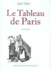 Le tableau de paris - Intérieur - Format classique