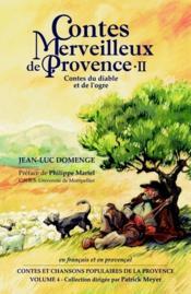 Contes Du Diable Et De L'Ogre En Provence - Couverture - Format classique