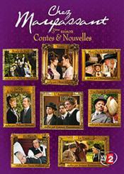 Chez Maupassant - Contes & Nouvelles - Volume 3 - Couverture - Format classique