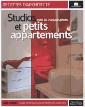 Aménager un studio ou un petit appartement - Couverture - Format classique