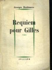 Requiem Pour Gilles De Rais. - Couverture - Format classique