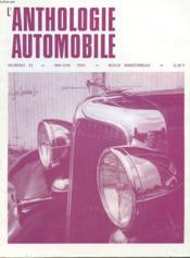 L'Anthologie De L'Automobile N°23 - Couverture - Format classique