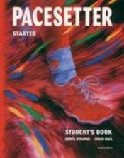 Pacesetter Starter: Student'S Book - Couverture - Format classique