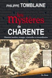 Les mystères de la Charentes - Couverture - Format classique