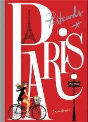 Paris Postcards /Anglais - Couverture - Format classique