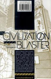 The civilization blaster t.9 - 4ème de couverture - Format classique