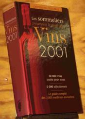 Guide des vins sommeliers ; edition 2001 - Couverture - Format classique