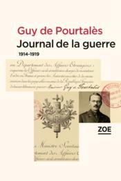 Journal de la guerre, 1914-1919 - Couverture - Format classique