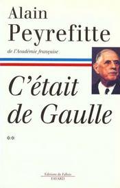 C'etait de gaulle - tome ii - Intérieur - Format classique