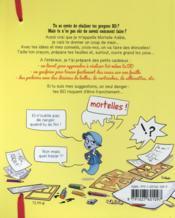 Fais ta BD avec mortelle Adèle - 4ème de couverture - Format classique