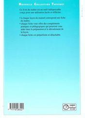 Mathematiques cm2 - livre du maitre - nouvelle collection - 4ème de couverture - Format classique