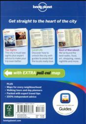 Marrakesh (4e édition) - 4ème de couverture - Format classique